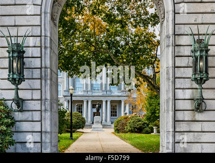 State House complex, Concord, New Hampshire, USA - Stock Photo