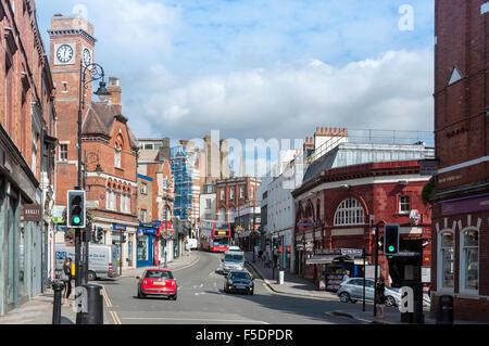 Heath Street, Hampstead, London Borough of Camden, Greater London, England, United Kingdom - Stock Photo
