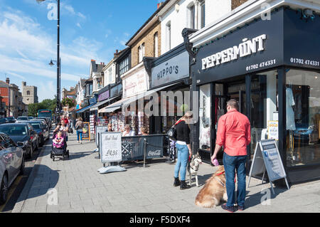 Broadway, Leigh-on-Sea, Essex, England, United Kingdom - Stock Photo