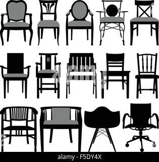 Chair Design - Stock Photo