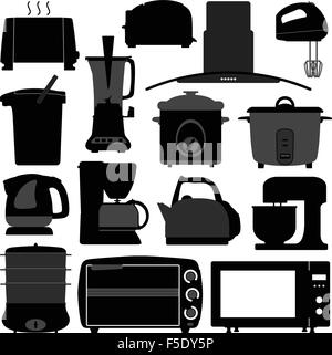 Kitchen Appliances Electronic Electrical Equipment Tool - Stock Photo