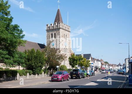 Catholic Church of Our Lady of Lourdes & St Joseph, Leigh Road, Leigh-on-Sea, Essex, England, United Kingdom - Stock Photo