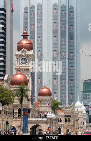 Sultan Abdul Samad Building, Merdeka Square, Kuala Lumpur, Malaysia, Southeast Asia, Asia - Stock Photo