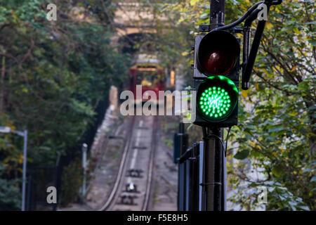 The Peak Tram, Hong Kong, China, Asia - Stock Photo