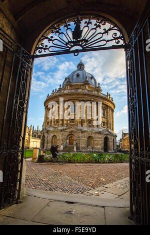 Radcliffe Camera, Oxford, Oxfordshire, England, United Kingdom, Europe - Stock Photo