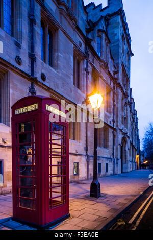 St. Giles Street, Oxford, Oxfordshire, England, United Kingdom, Europe - Stock Photo