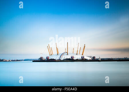 The Millennium Dome (O2 Arena), Greenwich, London, England, United Kingdom, Europe - Stock Photo