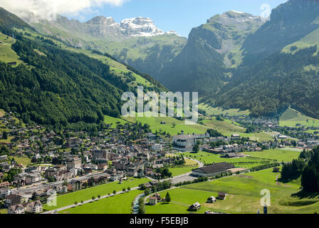 Engelberg, Unterwald, Switzerland, Europe - Stock Photo