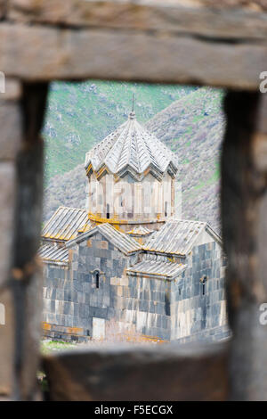 Church at Amberd fortress located on the slopes of Mount Aragat, Aragatsotn Province, Armenia, Caucasus, Central - Stock Photo