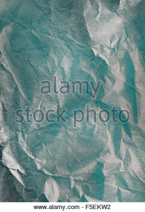 Abstract gray crumpled paper - Stock Photo