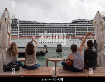 Cruise Ship Msc Divina In Venice Imo 9585285 Stock Photo 48898448 Alamy