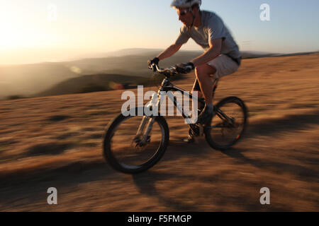 Laguna Beach, California, USA. 06th May, 2012. MTB rider TIM LANE rides the trails in Aliso and Wood Canyons Wilderness - Stock Photo