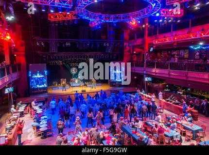 Full Moon saloon in Nashville Tennessee - Stock Photo
