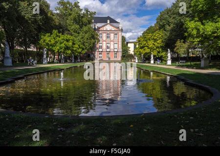 Kurfürstliches Palais, rococo Electoral palace, 1756, Trier, Rheinland-Pfalz, Germany - Stock Photo