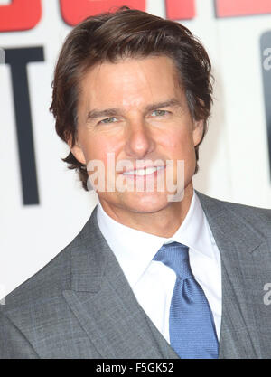Jul 25, 2015 - London, England, UK - Tom Cruise attends Mission: Impossible Rogue Nation Special Screening at the - Stock Photo