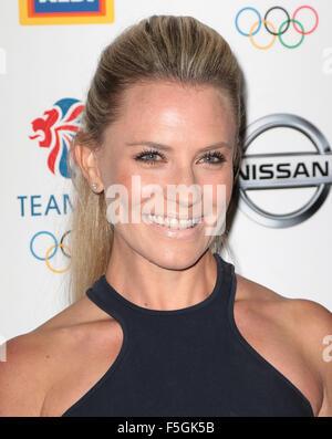 Sep 09, 2015 - London, England, UK - Georgie Thompson attends The British Olympic Association (BOA) hosts gala to - Stock Photo