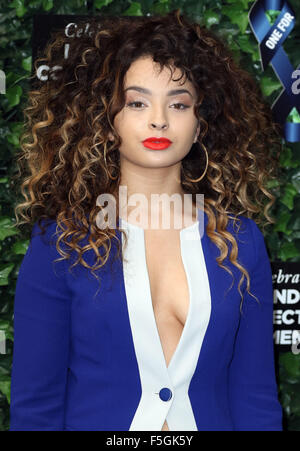 Jun 12, 2015 - London, England, UK - Ella Eyre attends One For The Boys Fashion Ball in aid of Samuel L Jackson's - Stock Photo