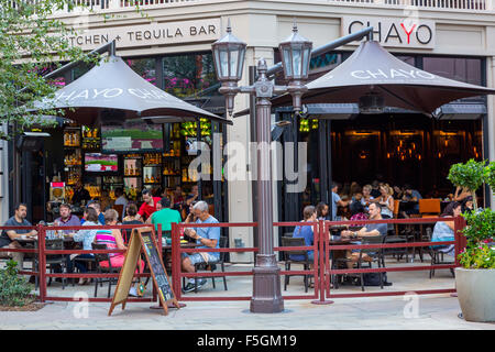 Las Vegas, Nevada.  Chayo Mexican Kitchen and Tequila Bar, The Linq Promenade. - Stock Photo