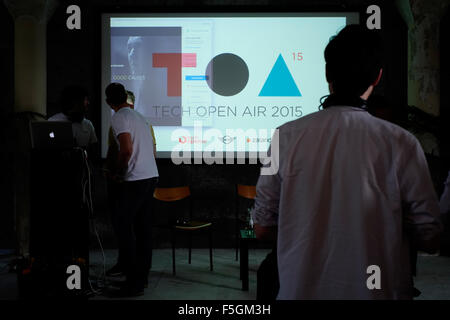 Berlin, Germany, Tech Open Air TOA - Stock Photo