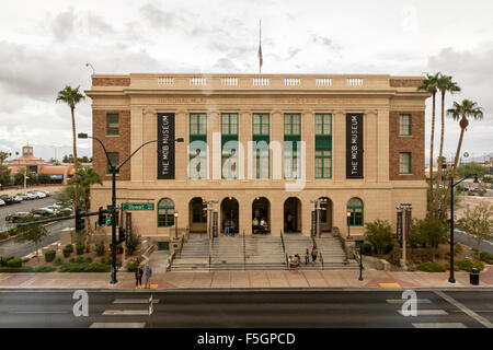 Las Vegas, Nevada.  National Museum of Organized Crime and Law Enforcement,  The Mob Museum, formerly the Federal - Stock Photo