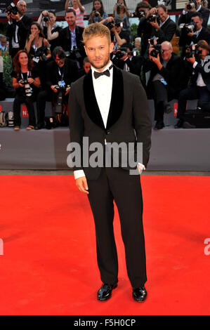 72nd Venice Film Festival, red carpet film Spotlight Pictured Guest  Where: Venice, Italy When: 03 Sep 2015 - Stock Photo