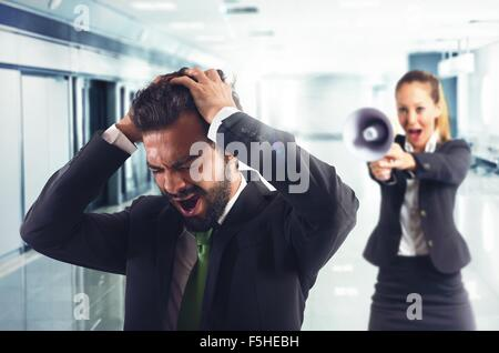 Reprimand and order - Stock Photo