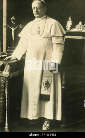 Portrait of Pope Pius XI Ratti, Vatucan City - Stock Photo