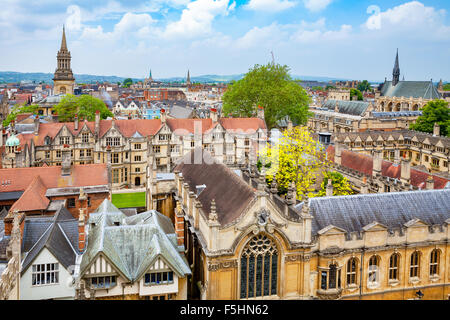Oxford City. England - Stock Photo