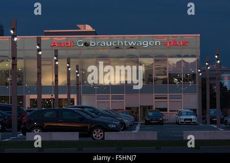 berlin germany audi zentrum adlershof stock photo royalty free image 89515275 alamy. Black Bedroom Furniture Sets. Home Design Ideas
