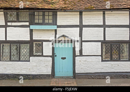 Period wood Framed Cottage Closeup Pangbourne UK - Stock Photo