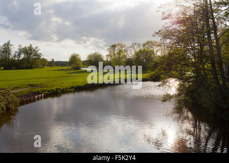 Flatford, Suffolk - Stock Photo