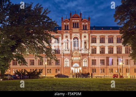 University, Rostock, Mecklenburg-Vorpommern, Germany - Stock Photo