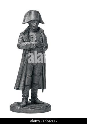 Silver Tin Soldier - Stock Photo
