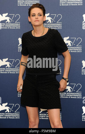 72nd Venice Film Festival - 'Equals' photocall  Featuring: Kristen Stewart When: 05 Sep 2015 - Stock Photo