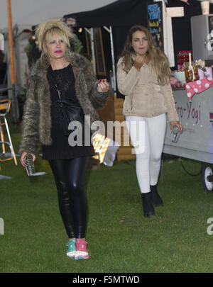 Celebrities at Sundown Festival  Featuring: Kierston Wareing Where: Norwich, United Kingdom When: 05 Sep 2015 - Stock Photo