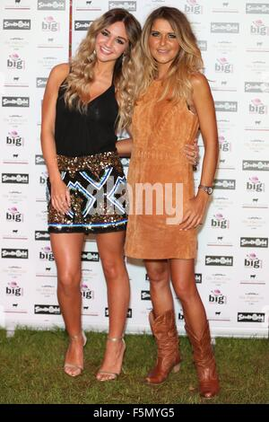 Sundown Festival 2015  Featuring: Riva, Gemma Oaten Where: London, United Kingdom When: 05 Sep 2015 - Stock Photo