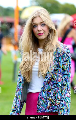 Sundown Festival 2015  Featuring: Becky Hill Where: London, United Kingdom When: 05 Sep 2015 - Stock Photo