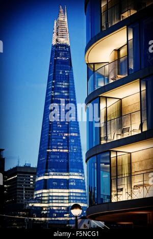The Shard tower London England UK - Stock Photo
