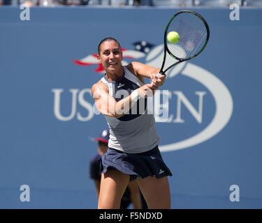 Flavia Pennetta (ITA) at the 2015 US Open Flushing Meadows,USTA Billie Jean King National Tennis Center, New York, - Stock Photo