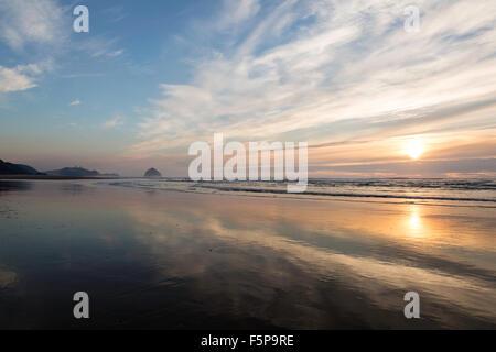 Tierra del Mar beach, Oregon - Stock Photo