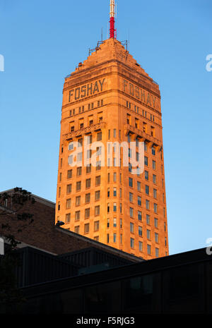 A TT TOWER AND HISTORIC FOSHAY TOWER NOW THE FOSHAY HOTEL IN