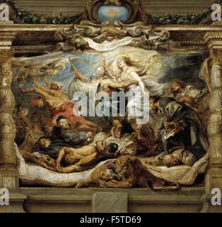 Peter Paul Rubens - La victoria de la Verdad sobre la Herejía - Stock Photo