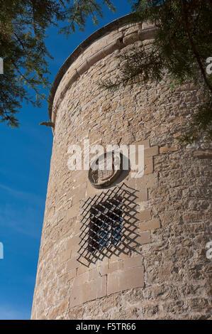 Canena Castle, Canena, Jaen province, Region of Andalusia, Spain, Europe - Stock Photo