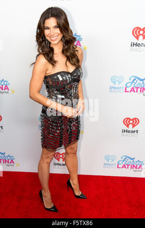 Miami, Florida, USA. 7th Nov, 2015. Actress ROSELYN SANCHEZ attends the iHeartRadio Fiesta Latina concert at American - Stock Photo