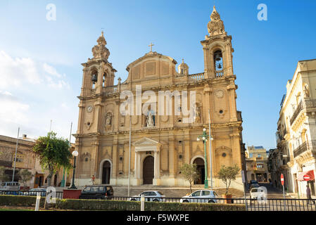 Church of St. Joseph's  in Msida. Valletta. Malta - Stock Photo