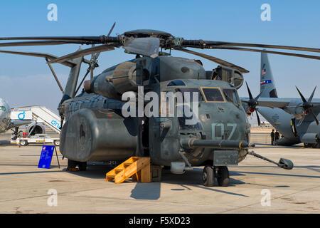 CH-53 Sea Stallion at Dubai Air Show 2015 in Dubai, UAE