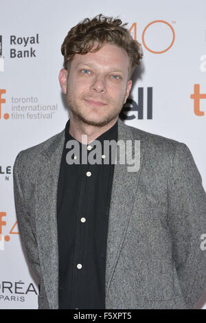 40th Toronto International Film Festival - 'The Final Girls' - Premiere  Featuring: Todd Strauss-Schulson Where: - Stock Photo