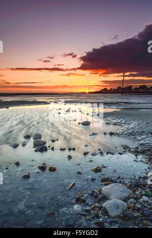 Sunset Middleton - Stock Photo