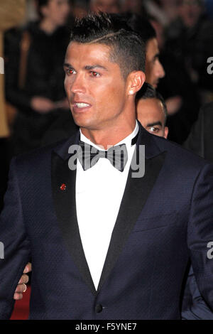 London, UK. 09th Nov, 2015. Ronaldo      attending the Would  Premiere of RONALDO  at the Vue West End London 9th - Stock Photo