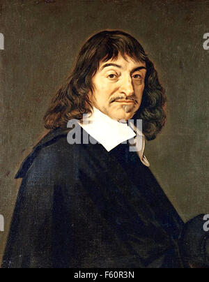 RENE DESCARTES (1596-1650) French philosopher and mathematician about 1650 - Stock Photo